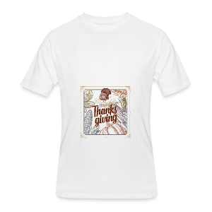 Happy Thanksgiving - Men's 50/50 T-Shirt