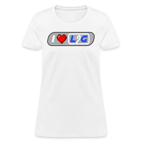 I Heart L2G Women Shirt - Women's T-Shirt