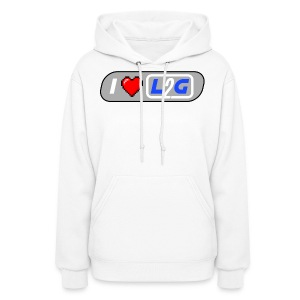 I Heart L2G Women Shirt - Women's Hoodie