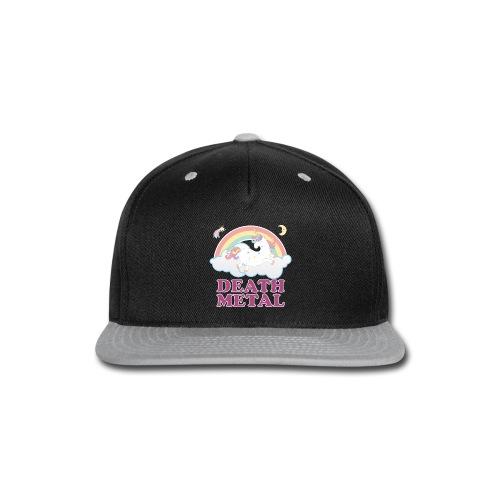 Death Metal Unicorn - Snap-back Baseball Cap