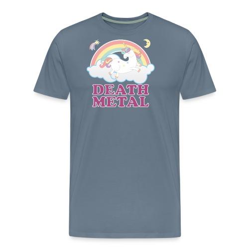 Death Metal Unicorn - Men's Premium T-Shirt