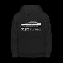 740 744 Turbo Sedan Badge White