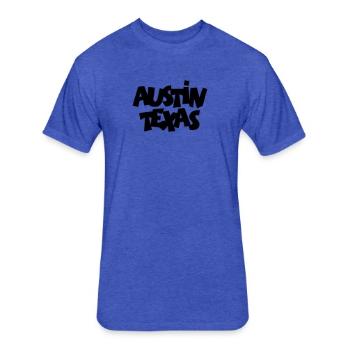 Austin Texas T-Shirt - Fitted Cotton/Poly T-Shirt by Next Level