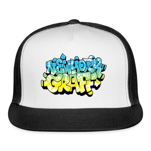 LAWE/SUB53 Design for New York Graffiti Color Logo - Trucker Cap