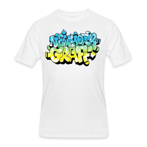 LAWE/SUB53 Design for New York Graffiti Color Logo - Men's 50/50 T-Shirt