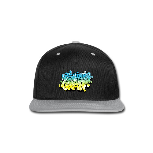 LAWE/SUB53 Design for New York Graffiti Color Logo - Snap-back Baseball Cap