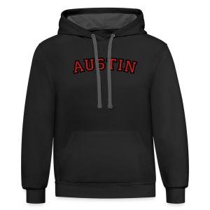 Austin T-Shirt - Contrast Hoodie