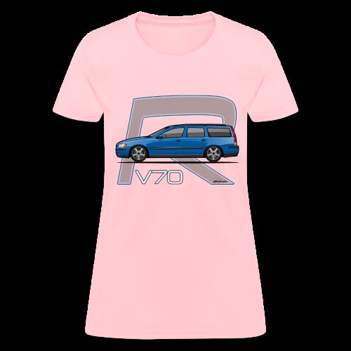 Sonic Blue V70 R Wagon
