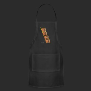 Levels to this shit Gamer Tee American Apparel  - Adjustable Apron