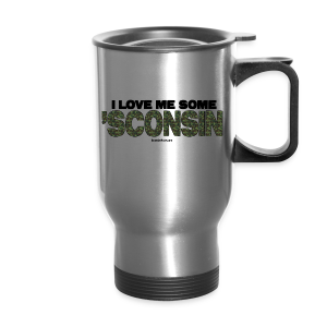 CAMO 'Sconsin  (Digital Print) - Travel Mug