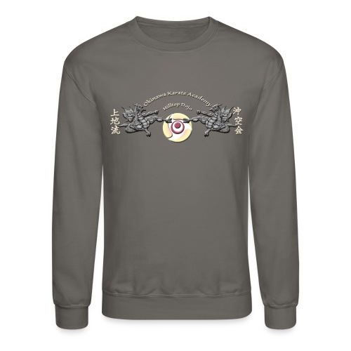 Hilltop Dojo Hoodie (gray logo) - Crewneck Sweatshirt