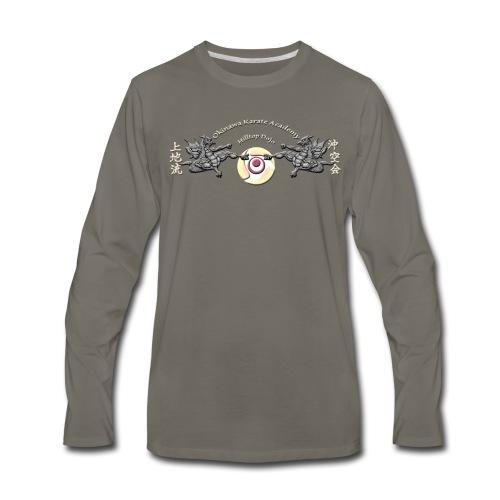 Hilltop Dojo Hoodie (gray logo) - Men's Premium Long Sleeve T-Shirt