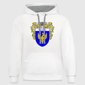 Sanchez Coat of Arms/Family Crest - Contrast Hoodie