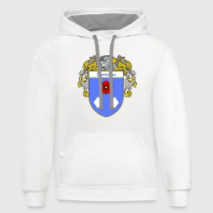 Santana Coat of Arms/Family Crest - Contrast Hoodie