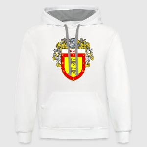 Ruiz Coat of Arms/Family Crest - Contrast Hoodie