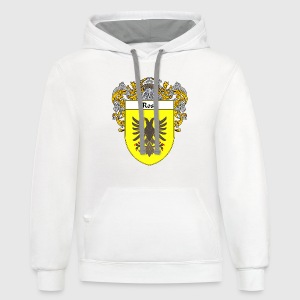 Rosa Coat of Arms/Family Crest - Contrast Hoodie