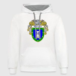Rodriguez Coat of Arms/Family Crest - Contrast Hoodie