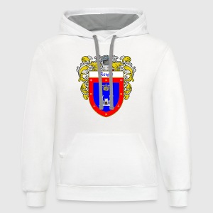 Reyes Coat of Arms/Family Crest - Contrast Hoodie