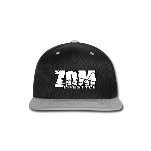 ZDM Lifestyle Men's Hoodie - Snap-back Baseball Cap