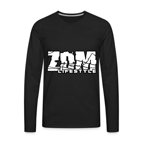 ZDM Lifestyle Men's Hoodie - Men's Premium Long Sleeve T-Shirt