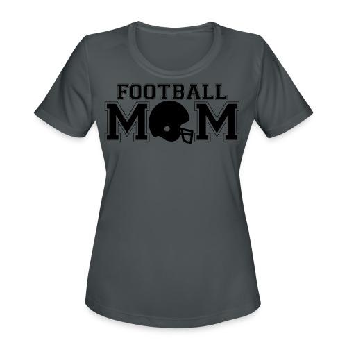 Football Mom game day shirt - Women's Moisture Wicking Performance T-Shirt