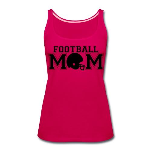 Football Mom game day shirt - Women's Premium Tank Top
