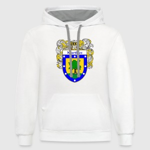 Martinez Coat of Arms/Family Crest - Contrast Hoodie