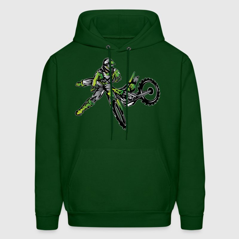 Kawasaki Freestyle Dirt Bike Hoodies - Men's Hoodie