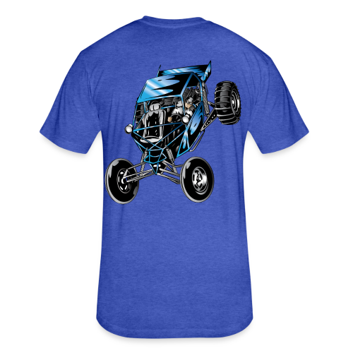 Dune Buggy Racer - Fitted Cotton/Poly T-Shirt by Next Level