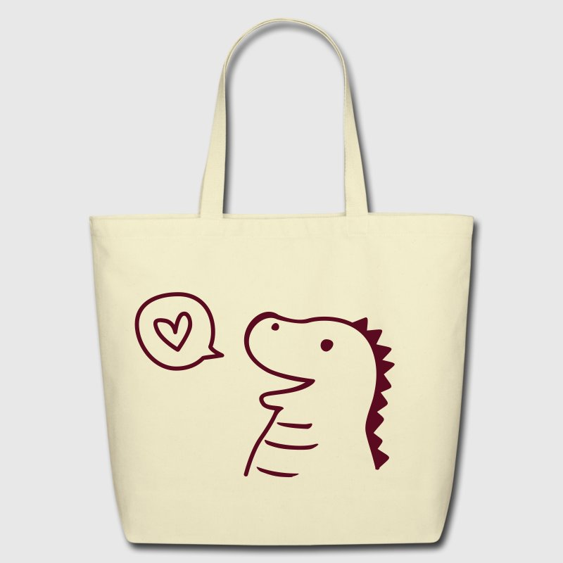 Cute Dinosaur Bags  - Eco-Friendly Cotton Tote