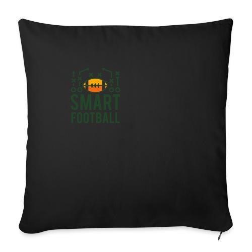 Men's Zip Hoodie - Throw Pillow Cover
