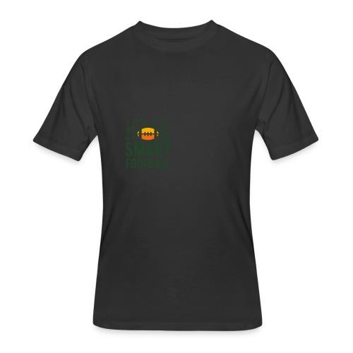 Men's Zip Hoodie - Men's 50/50 T-Shirt