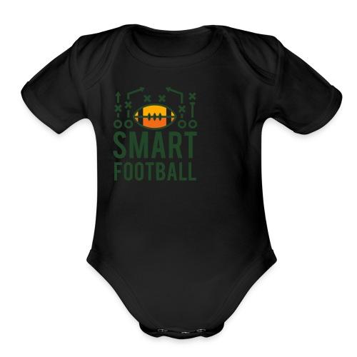 Men's Zip Hoodie - Organic Short Sleeve Baby Bodysuit