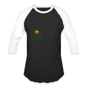 Men's Zip Hoodie - Baseball T-Shirt