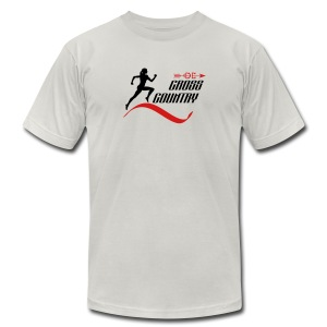 Cross country - Men's T-Shirt by American Apparel