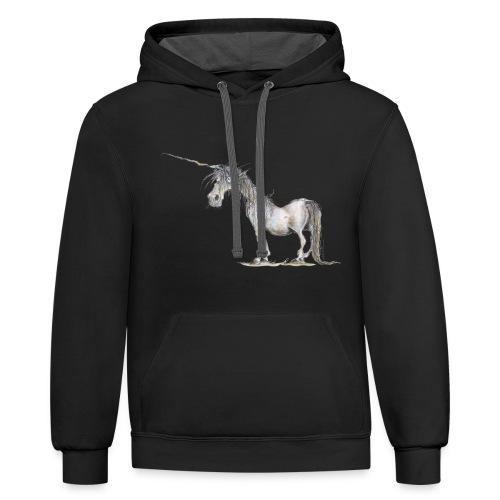 Last Unicorn - Contrast Hoodie