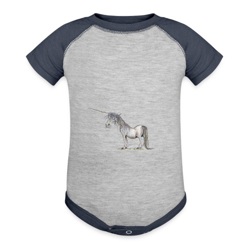 Last Unicorn - Contrast Baby Bodysuit
