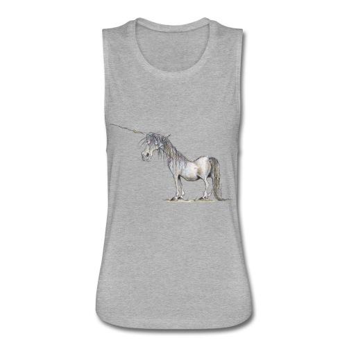 Last Unicorn - Women's Flowy Muscle Tank by Bella