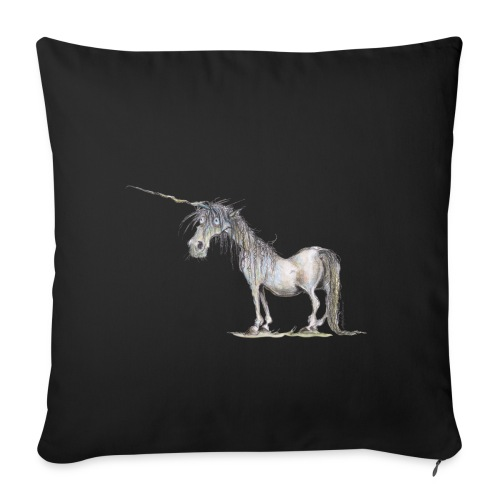 "Last Unicorn - Throw Pillow Cover 18"" x 18"""