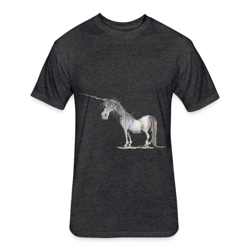 Last Unicorn - Fitted Cotton/Poly T-Shirt by Next Level