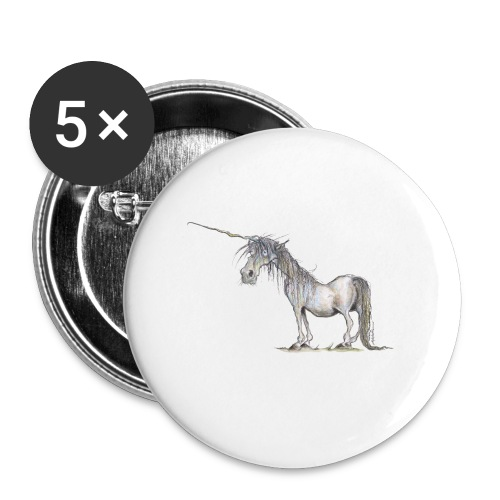 Last Unicorn - Buttons large 2.2'' (5-pack)