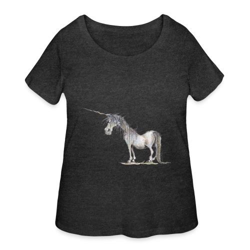 Last Unicorn - Women's Curvy T-Shirt