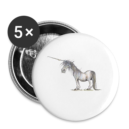 Last Unicorn - Buttons small 1'' (5-pack)