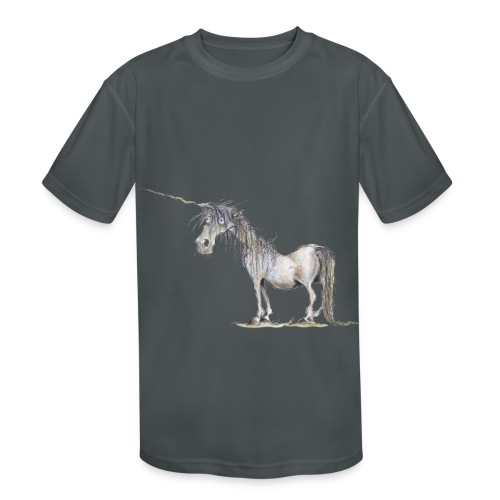 Last Unicorn - Kids' Moisture Wicking Performance T-Shirt