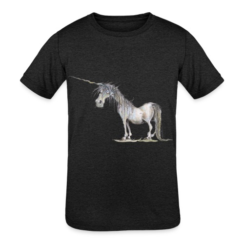 Last Unicorn - Kids' Tri-Blend T-Shirt