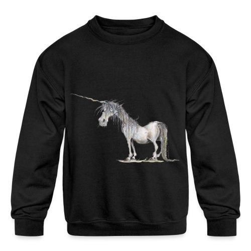 Last Unicorn - Kids' Crewneck Sweatshirt