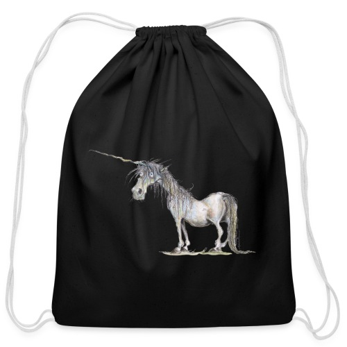 Last Unicorn - Cotton Drawstring Bag