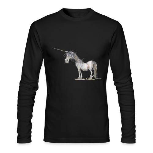 Last Unicorn - Men's Long Sleeve T-Shirt by Next Level