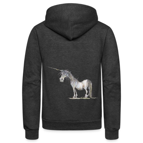 Last Unicorn - Unisex Fleece Zip Hoodie