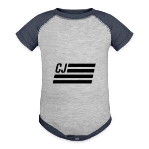 CJ flag - Baby Contrast One Piece